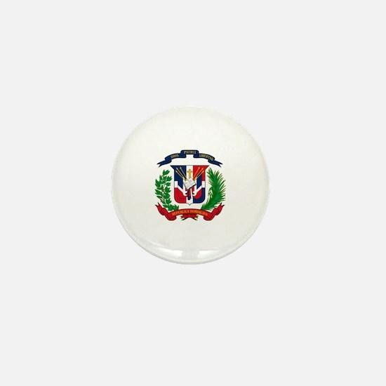 Cute Republica dominicana Mini Button