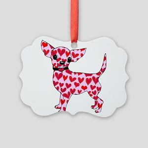 Chihuahua Picture Ornament