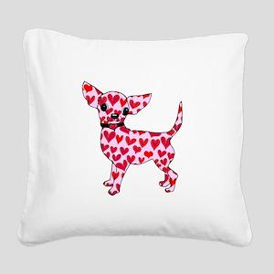 Chihuahua Square Canvas Pillow