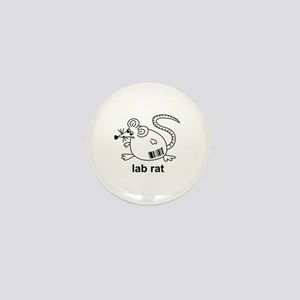 Lab Rat Mini Button