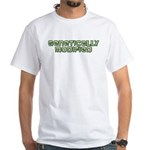 Genetically Modified White T-Shirt