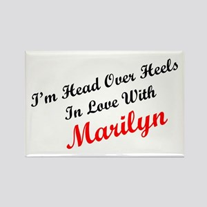 In Love with Marilyn Rectangle Magnet