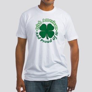 Irish pride Fitted T-Shirt