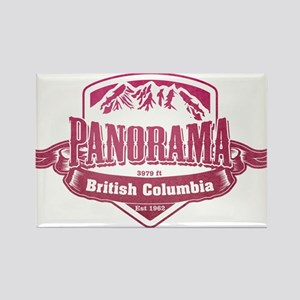 Panorama British Columbia Ski Resort 2 Magnets
