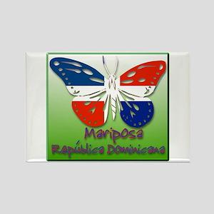 Mariposa Republica Dominicana Rectangle Magnet