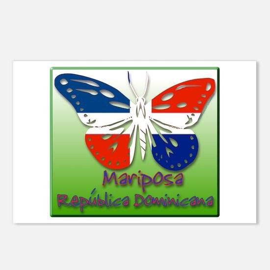 Mariposa Republica Dominicana Postcards (Package o