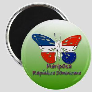 Mariposa Republica Dominicana Magnet