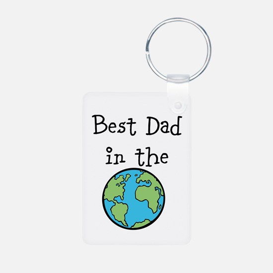 Best Dad in the world Keychains