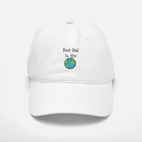 Best Dad in the world Baseball Baseball Baseball Cap