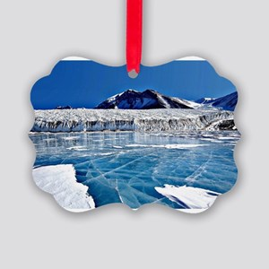 South Pole, Antartica Picture Ornament