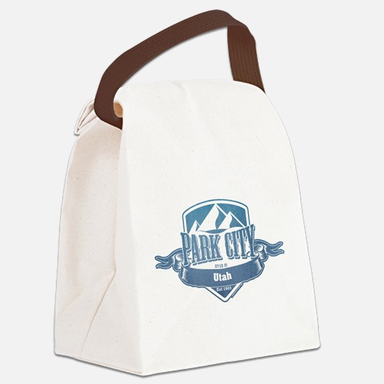 Park City Utah Ski Resort 1 Canvas Lunch Bag