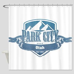 Park City Utah Ski Resort 1 Shower Curtain