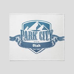 Park City Utah Ski Resort 1 Throw Blanket