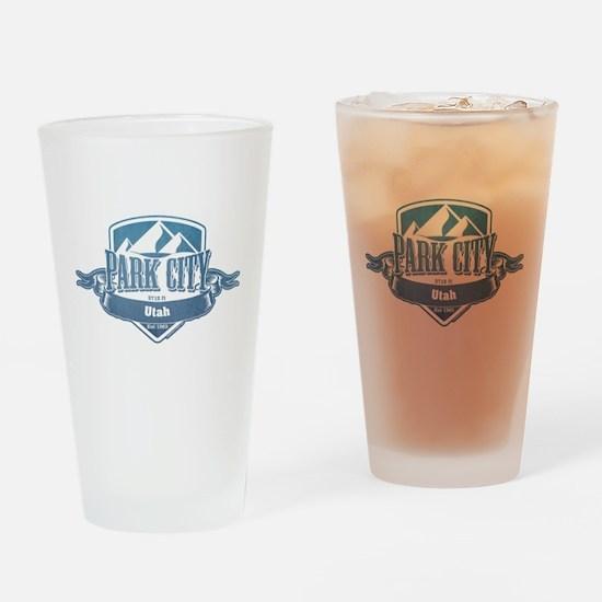Park City Utah Ski Resort 1 Drinking Glass