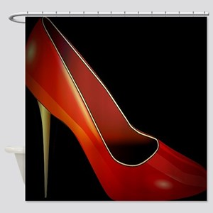 high heel Shower Curtain