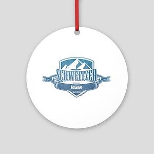 Schweitzer Idaho Ski Resort 1 Ornament (Round)