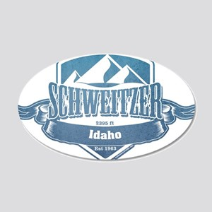 Schweitzer Idaho Ski Resort 1 Wall Sticker