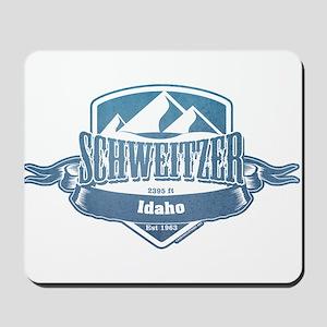 Schweitzer Idaho Ski Resort 1 Mousepad