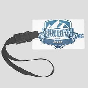 Schweitzer Idaho Ski Resort 1 Large Luggage Tag
