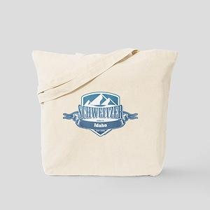 Schweitzer Idaho Ski Resort 1 Tote Bag