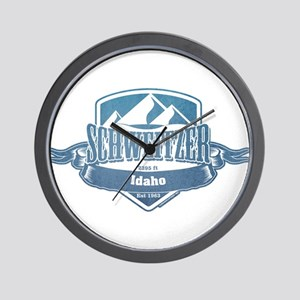 Schweitzer Idaho Ski Resort 1 Wall Clock