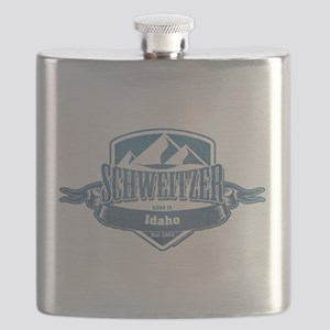 Schweitzer Idaho Ski Resort 1 Flask