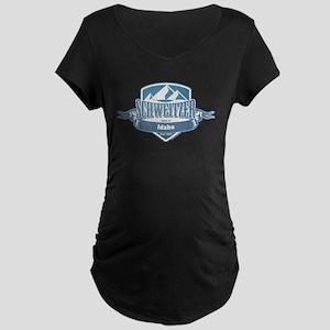 Schweitzer Idaho Ski Resort 1 Maternity T-Shirt