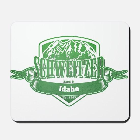 Schweitzer Idaho Ski Resort 3 Mousepad