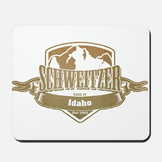 Schweitzer Idaho Ski Resort 4 Mousepad