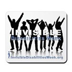 Invisible Disabilities Week Mousepad
