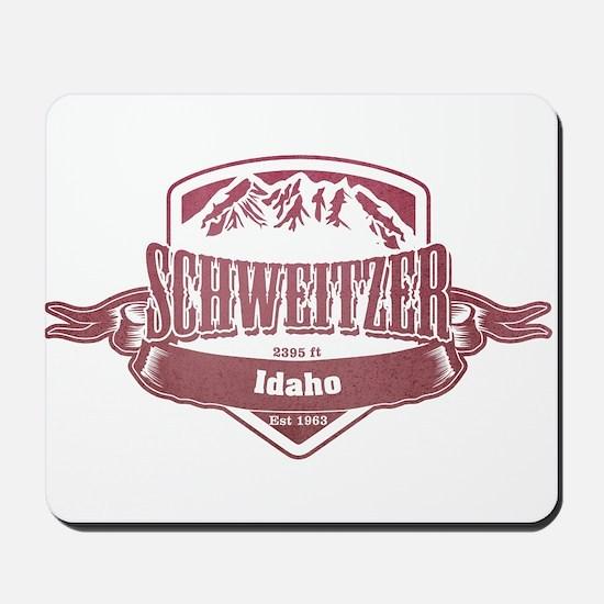 Schweitzer Idaho Ski Resort 2 Mousepad