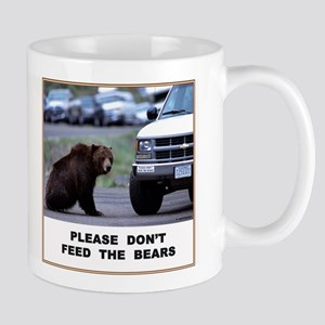 Please Don't Feed Bears Mug