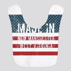 Made in New Manchester, West Vi Polyester Baby Bib