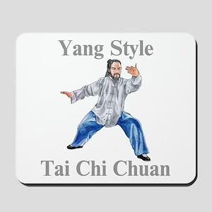 Yang Tai Chi Chuan Mousepad