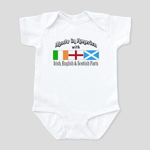 Irish-English-Scottish Infant Bodysuit
