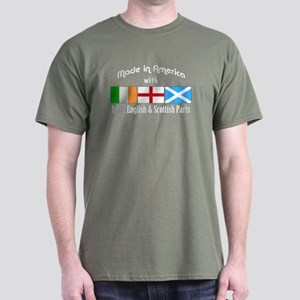 Irish-English-Scottish Dark T-Shirt