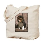 Beagle Puppy Photograph Tote Bag