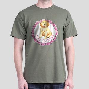 Golden Valentine Dark T-Shirt