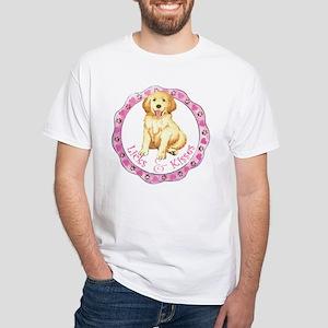 Golden Valentine White T-shirt