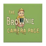 The Brownie Camera Tile Coaster