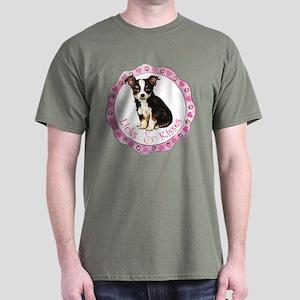 Long Coat Chihuahua Dark T-Shirt