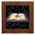 The VSL, The Universe, The Mason Framed Tile