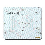 Hex Star Map Mousepad