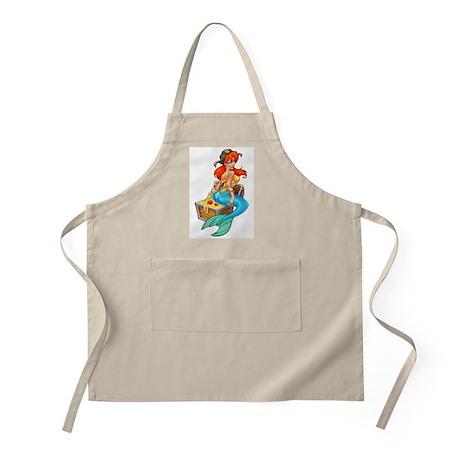 Mermaid Molly Pirate BBQ Apron
