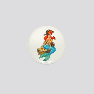 Mermaid Molly Pirate Mini Button