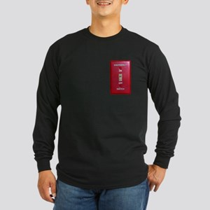 Emergency Switch... Long Sleeve Dark T-Shirt
