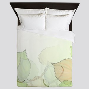 Leaves Medium Queen Duvet