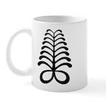 AYA Adinkra Symbol Mug