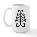 AYA Adinkra Symbol Large Mug
