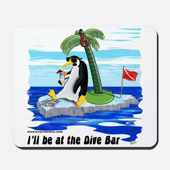 Penguin Dive Bar Mousepad